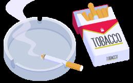 タバコを何本吸っていますか?